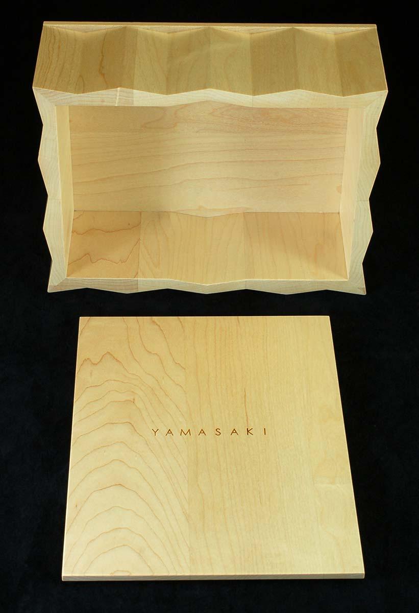 Pleated Side Box