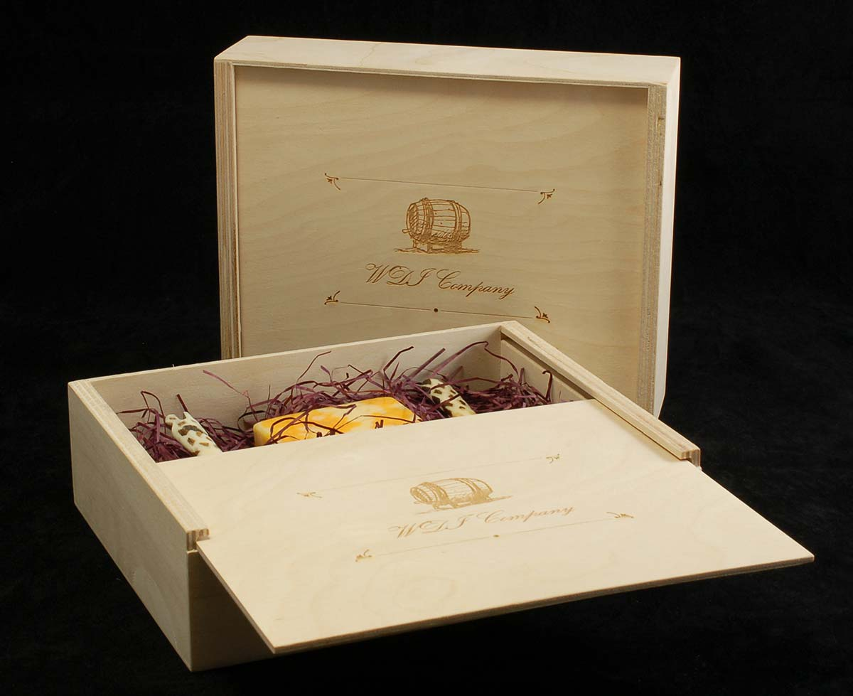 Bliss Cigar Shape Box