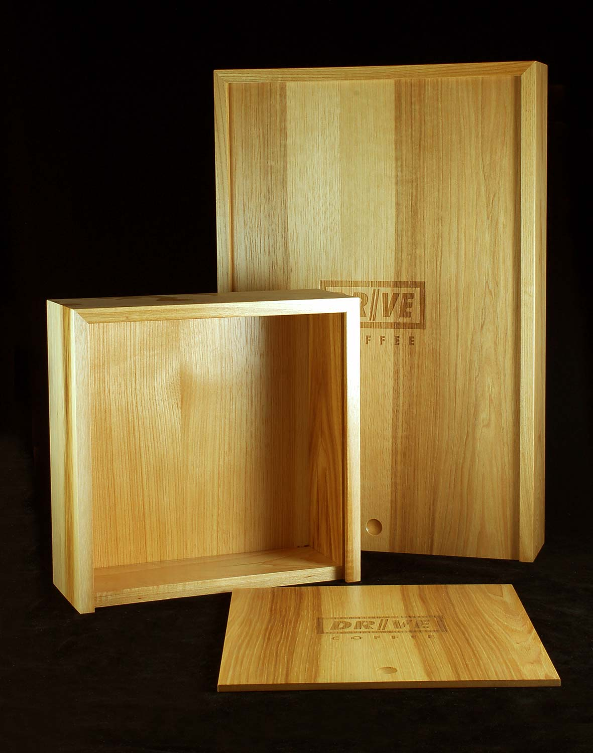 Drive Coffee Box, Large and Small